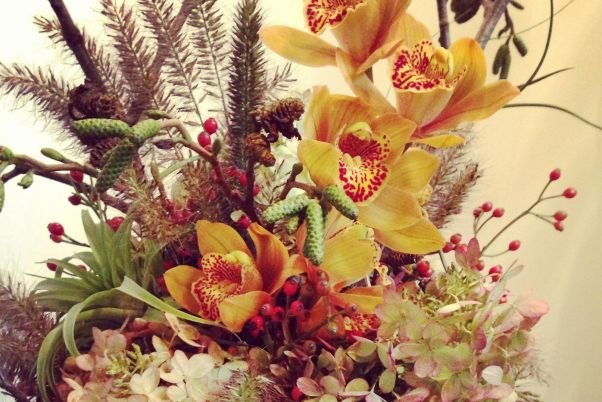<p>Fall flowers</p>